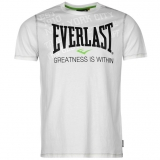 Everlast Geo Prm Tee Mens White