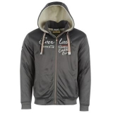 Everlast Track Hoody Mens Charcoal