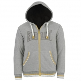 Everlast Sherpa Hoody Mens Grey