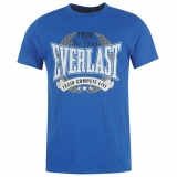Everlast Classic Tshirt Mens Royal Blue