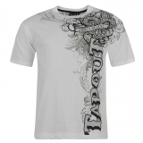 Tapout Cross Tee Mens White