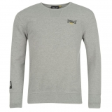 Everlast Crew Sweater Mens Grey