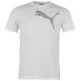 Puma QTT Dizzy T Shirt Mens White