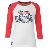 Lonsdale FTF 3/4 T-Shirt Ladies White