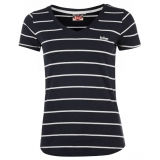 Lee Cooper T Shirt Ladies Navy
