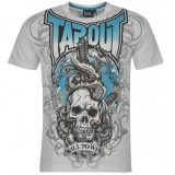 Tapout Sword T Shirt Mens White/Blue
