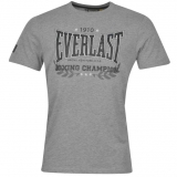 Everlast Heritage T Shirt Mens Grey