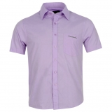 Pierre Cardin Shirt Mens Purple