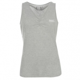 Lonsdale V Neck Vest Ladies Grey