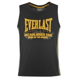 Everlast Classic Vest Mens Black/Yellow