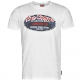 Lee Cooper Vintage T Shirts Mens White
