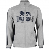 Lonsdale Zip Top Mens Grey