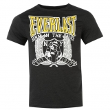Everlast Web Tee Shirt Mens Black Marl
