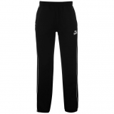 Lonsdale 2 Stripe Joggers Mens Black/White