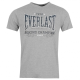 Everlast Classic T Shirt Mens Grey Core