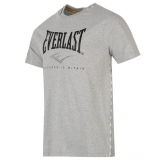 Everlast Taped T Shirt Mens Grey