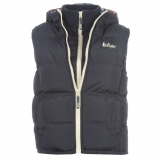 Lee Cooper 2 Zip Gilet Ladies Navy