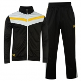 Everlast Polyester Track Suit Mens Black