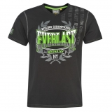Everlast Geo V T-shirt Mens Black