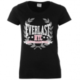 Everlast Logo TShirt Womens Black