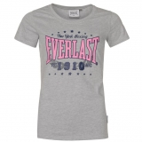 Everlast Logo TShirt Womens Grey