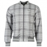 Everlast Check Rain Jacket Mens Grey