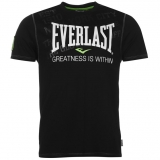 Everlast Geo Prm Tee Mens Black