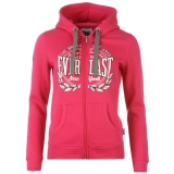 Everlast Llogo Zip Hoody Ladies Pink