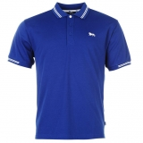 Lonsdale Lion Polo Shirt Mens Blue