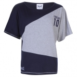 Everlast Dot TShirt Womens Grey/Navy