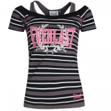 Everlast Mock Layer T Shirt Ladies Black