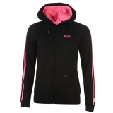 Lonsdale Hoody Ladies Black/Pink