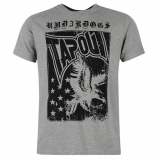 Tapout Eagle Logo T Shirt Mens Grey