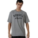 Russell Athletic T-shirt Mens Grey