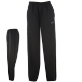 Lonsdale 2 Stripe Jog Pants Mens Black/Charc
