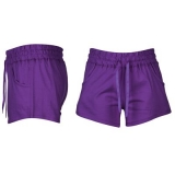 Miss Fiori Shorts Ladies Purple