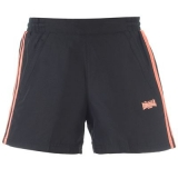 Lonsdale Woven Short Ladies Black/Peach