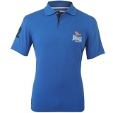 Lonsdale Flying The Flag Polo Shirt Mens Blue