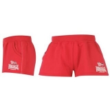 Lonsdale Flying The Flag Shorts Ladies Pink