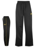 Everlast Ox Tricot Tracksuit Bottoms Mens Black