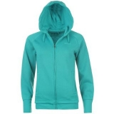 LA Gear Full Zip Hoody Ladies Tropical Green