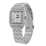 Golddigga Retro Tank Watch Ladies Silver