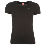 Puma Essentials T Shirt Ladies Black