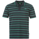 Lonsdale YD Polo Shirt Mens Navy/Green