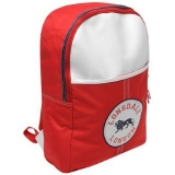 Lonsdale Badge Backpack Red