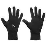 Puma Knitted Gloves Mens Blakc