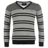 Airwalk  V Knitted jumper Grey/Black