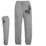 Tapout Logo Fleece Pants Mens Grey
