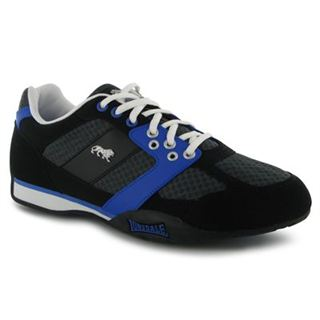 Lonsdale Camden Mens Trainers Black