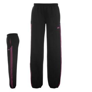 Lonsdale Pants Ladies Black/Purple